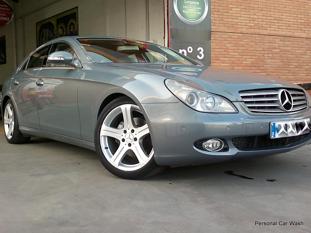 Mercedes CLS Detallado Interior y Exterior