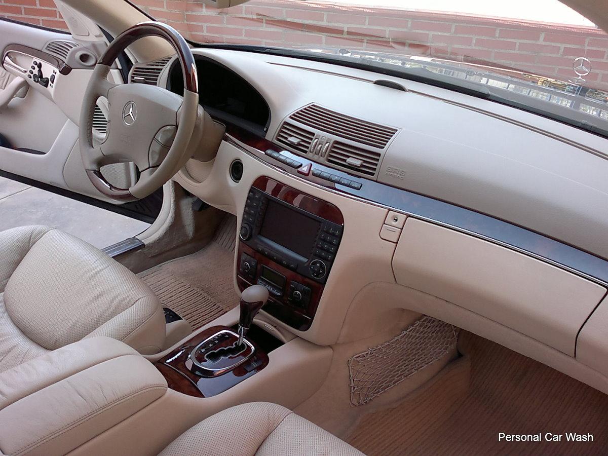 Mercedes S 350 Limusina / Detallado Interior