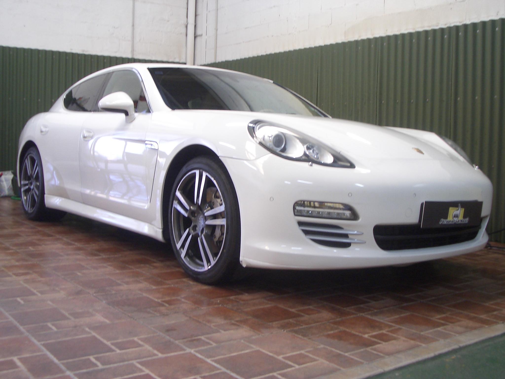 Porsche Panamera 4S – Detallado Integral Interior