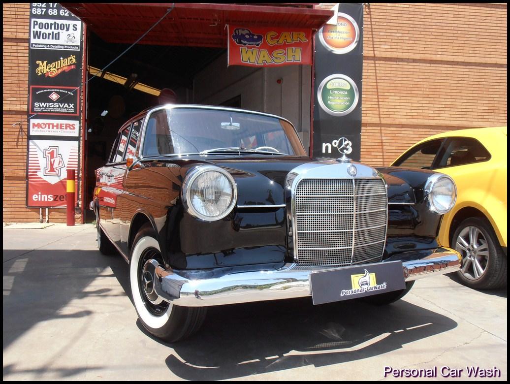 """Mercedes Benz 190D """"COLAS"""" año 1.963"""