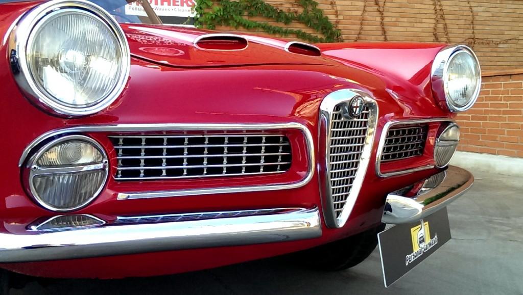 Alfa Romeo 2.000 Spider Año 1.959