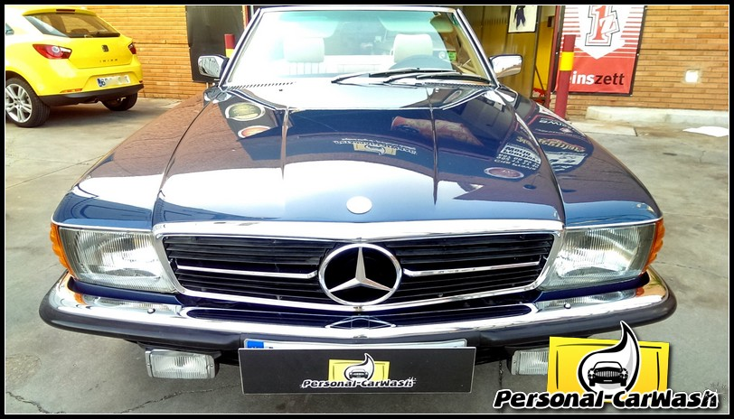 Mercedes 500SL año 1.982