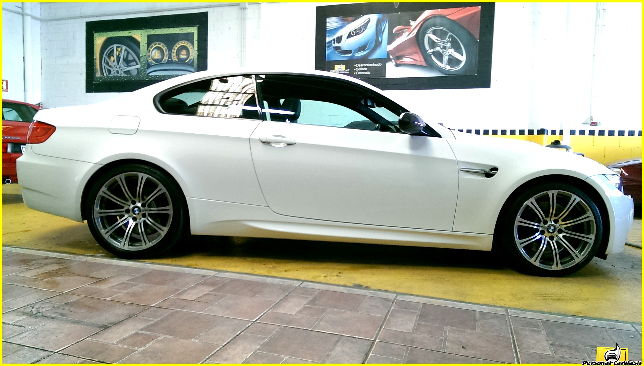 BMW M3. Pulido y Tratamiento cerámico (Coating).