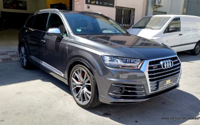 Audi SQ7 Pulido + Coating