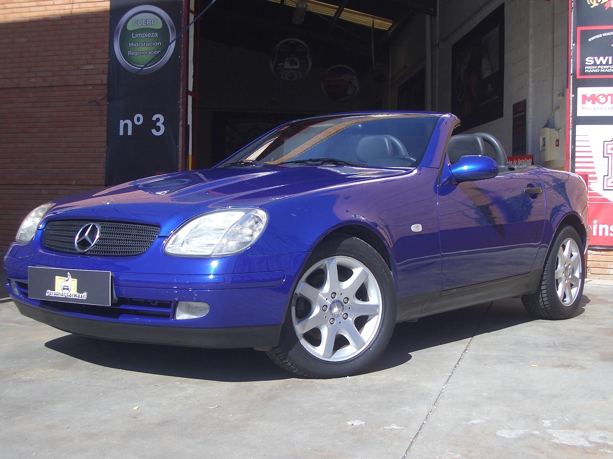 Mercedes SLK 230 Kompressor, Detallado Integral.