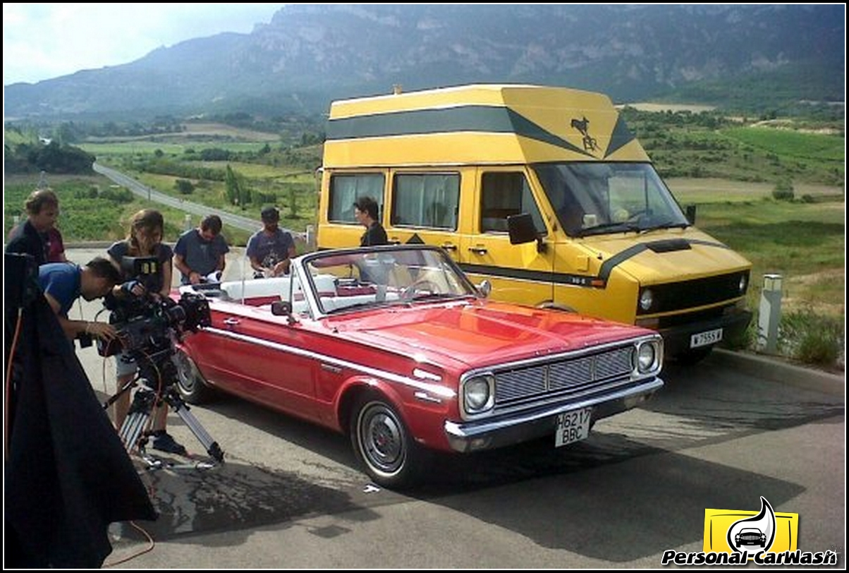 "Plymouth Valiant – Film ""El Rey Gitano"""